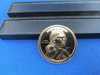 2000 - S - Native American Dollars - Sacagawea Clad - Deep Cameo Ultra Proof photo