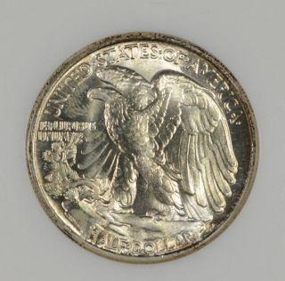 1944 50c Walking Liberty Half Dollar Ngc Ms 64 photo