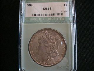 1889 Silver Morgan Dollar photo