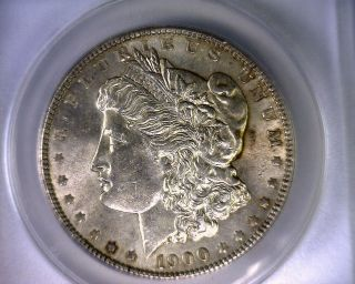 Anacs Au58 1900 Vam 24 Ddr 2 Doubled Arrows Top 100 Morgan Silver Dollar photo