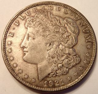 1921 Morgan Dollar (n 0059) photo