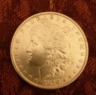 1878 $1 Morgan Silver Dollar photo
