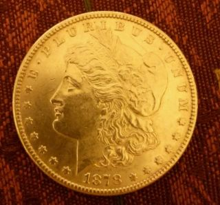 1878 - S $1 Morgan Silver Dollar/showsms Likes photo