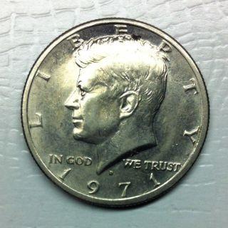 1971 Us Kennedy Half Dollar Coin photo
