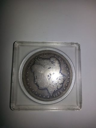 1888 Morgan Silver Dollar photo