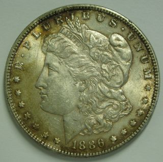 1886 P Morgan Silver Dollar 90% Us Silver photo