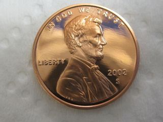 2002 S Gem Proof Lincoln Cent photo