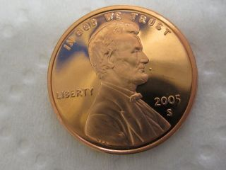2005 S Gem Proof Lincoln Cent photo