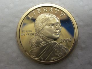 2006 S Gem Proof Sacagawea Native American Dollar photo