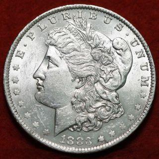 Uncirculated 1883 - O Silver Morgan Dollar S/h photo