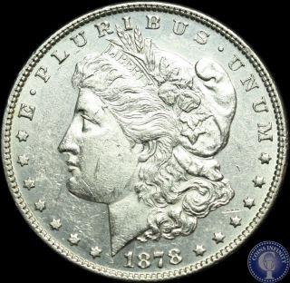1878 P Silver Morgan Dollar Uncirculated 13 photo