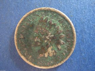1859 Indian Head Cent,  Tougher Date photo