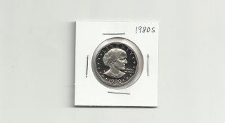 1980 S Susan B.  Anthony Dollar Gem Proof Coin photo