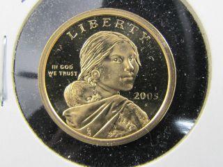 2005 S Prf Sacagawea Dollar photo