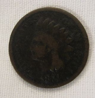 1874 Bronze Indian Head Cent About photo