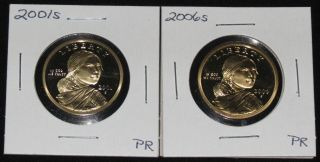 2001s And 2006s Proofs Sacagawea Dollars photo