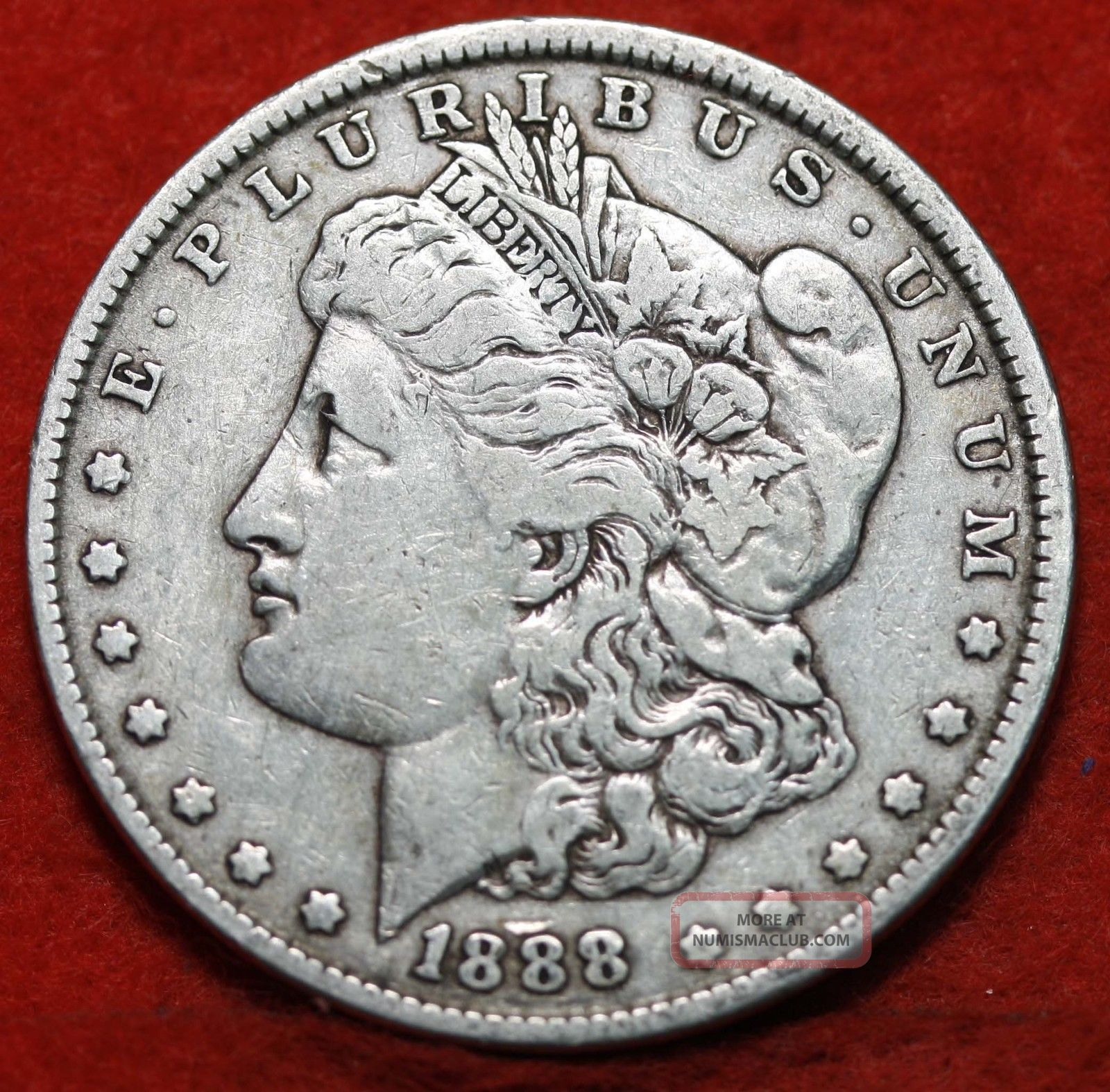 1888 Silver Morgan Dollar