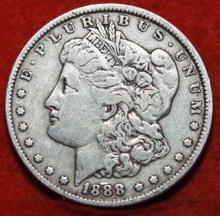 1888 Silver Morgan Dollar photo