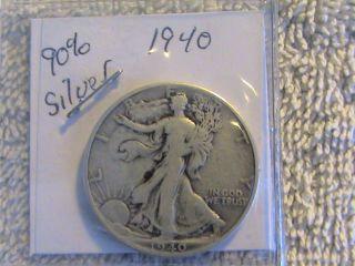 1940 90% Silver Liberty Half Dollar photo