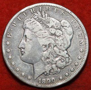 1890 - Cc Silver Morgan Dollar photo