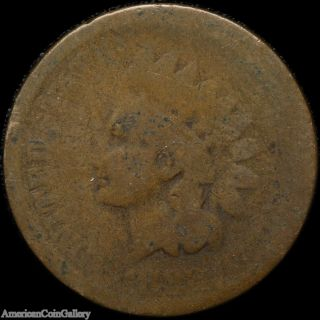 1882 Indian Head Penny Very Old Rare Great Us Coin Z photo