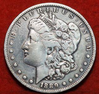 1889 - O Silver Morgan Dollar photo