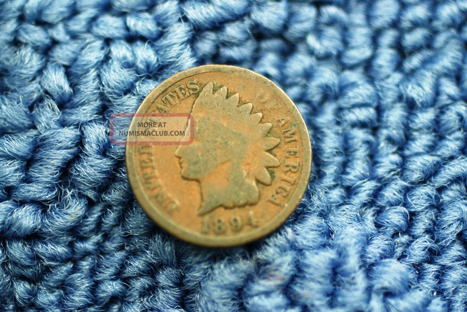 1894 Indian Head Small Cent Or Penny Item 344 Small Cents photo