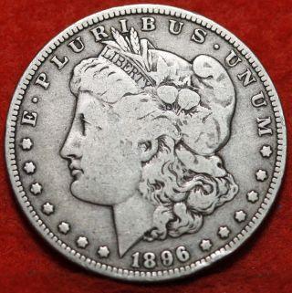 1896 - O Silver Morgan Dollar photo