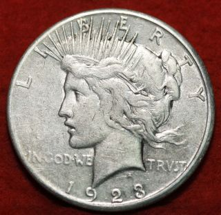 1923 - S Silver Peace Dollar photo