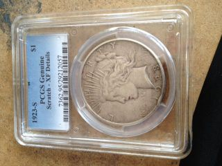 1923 S Peace Silver Dollar photo
