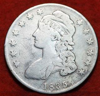 1835 Silver Bust Half Dollar S/h photo