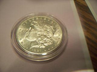 1881 S Morgan Silver Dollar photo