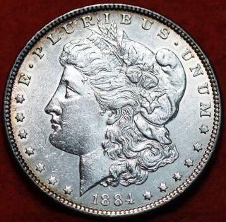 1884 Silver Morgan Dollar photo