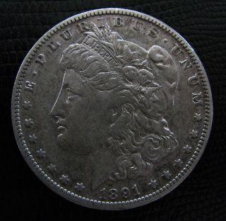 1891 - O Morgan Silver Dollar / 90% Silver Coin / Combined Available photo