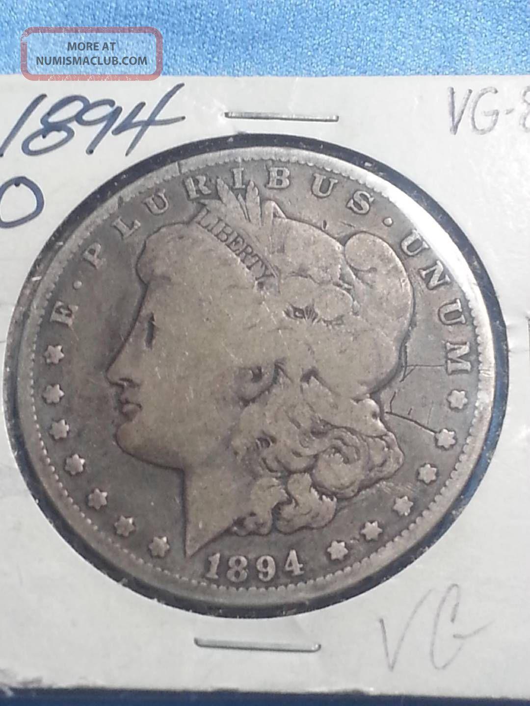 1894 O Morgan Silver Dollar Mby060