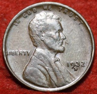 1932 - D Lincoln Wheat Cent photo