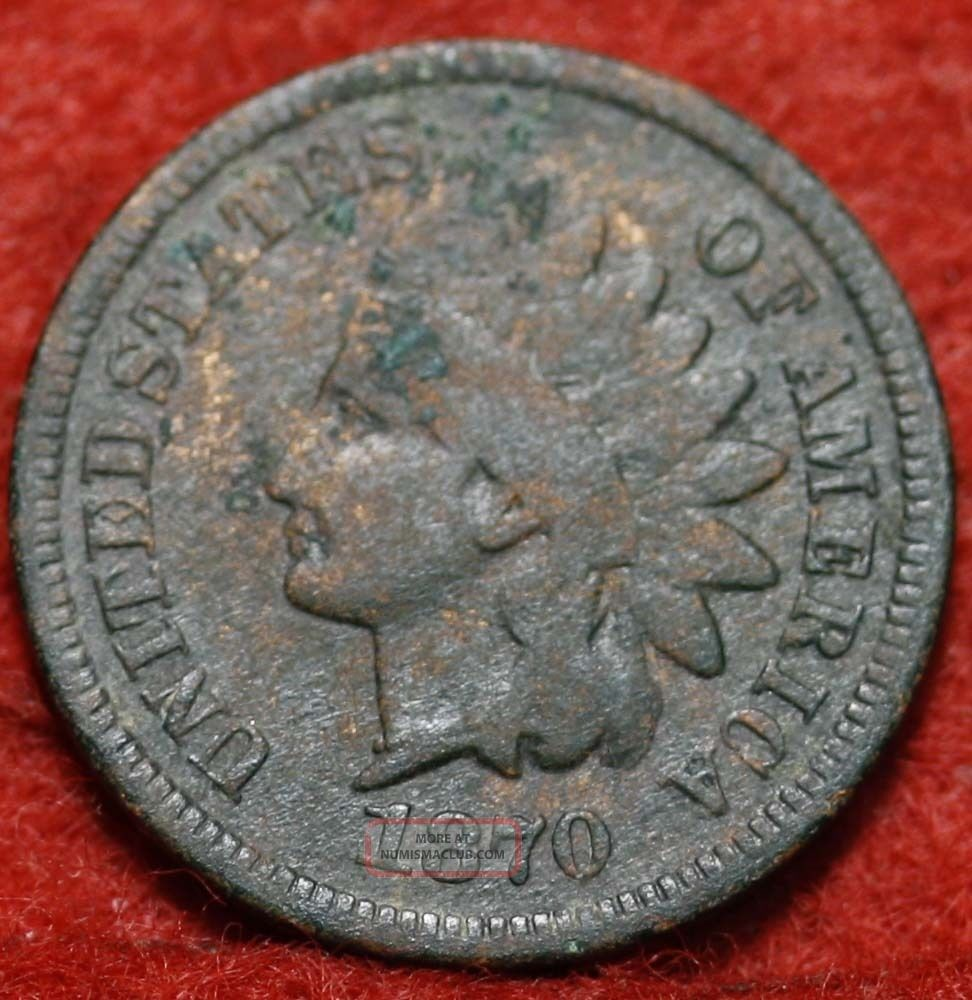 1870 Indian Head Cent Small Cents photo