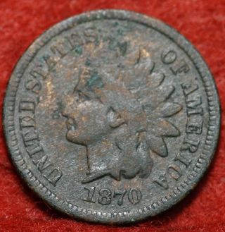 1870 Indian Head Cent photo