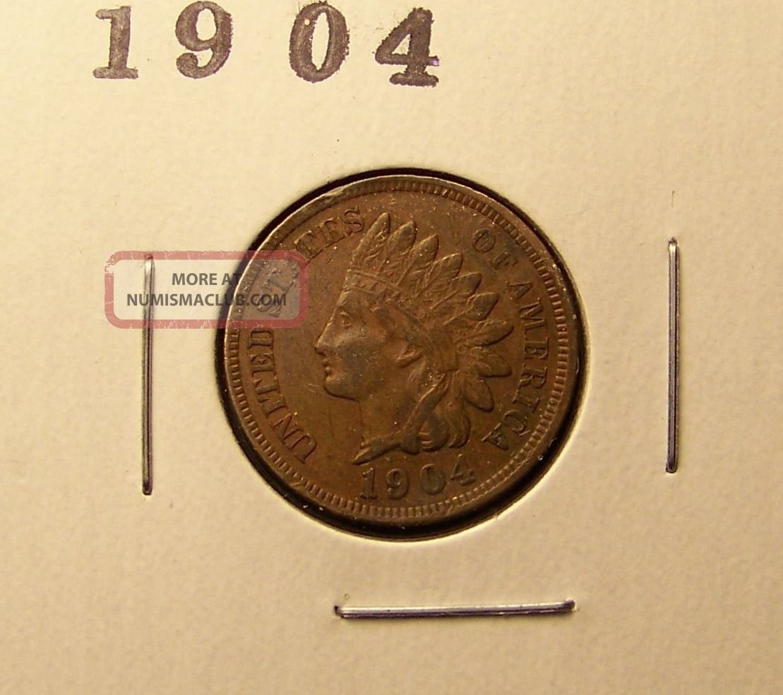 1904 Indian Head Cent. . . Small Cents photo