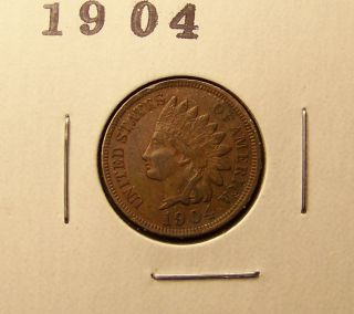1904 Indian Head Cent. . . photo