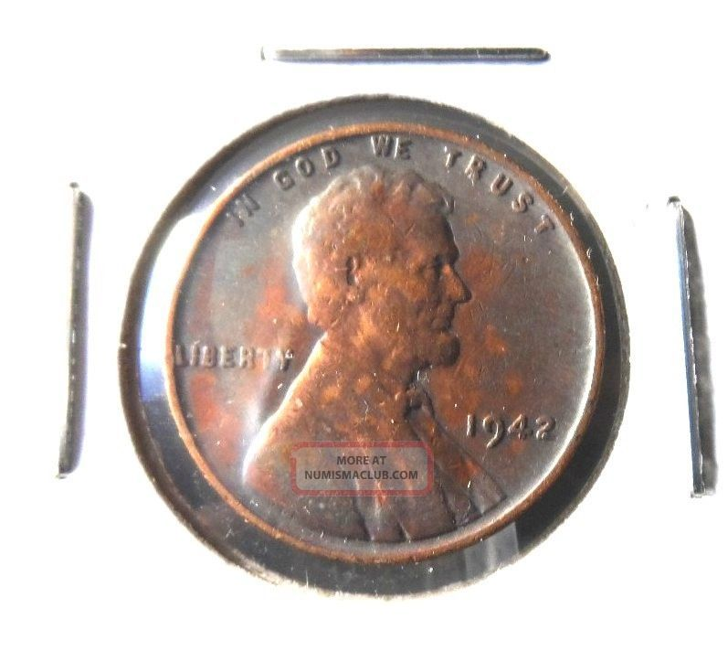 1942p Quot Vg Quot In Grade Lincoln Wheat Cent