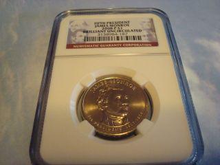 2008 P James Monroe Presidential Dollar photo