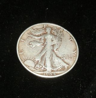 1944 D Walking Liberty Silver Half Dollar photo