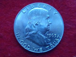 1963 D Franklin Half Dollar photo