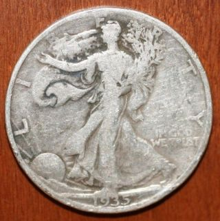 1935 D Liberty Walking Half Dollar – Good Nr photo