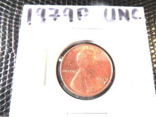 1979p Uncirculated Lincoln Penny photo