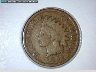 1909 Indian Head Cent photo