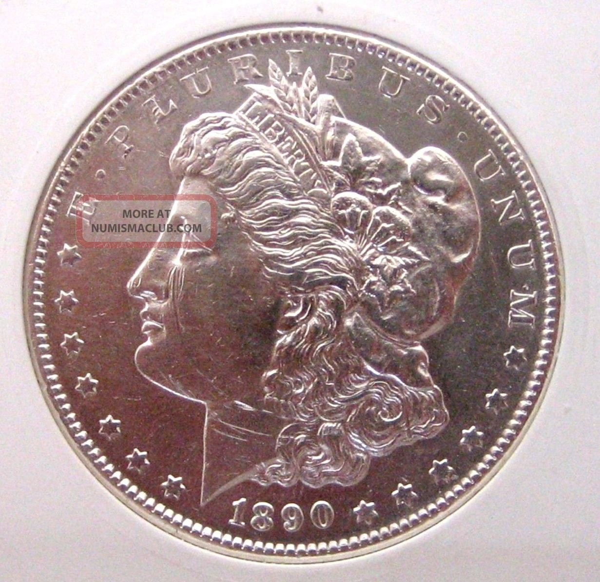 1890 S Morgan Dollar Almost Uncirculated Silver