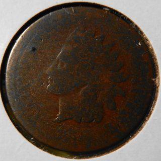 1873 Indian Head Cent Good photo