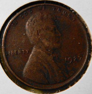 1927 - D Lincoln Wheat Cent X - Fine photo